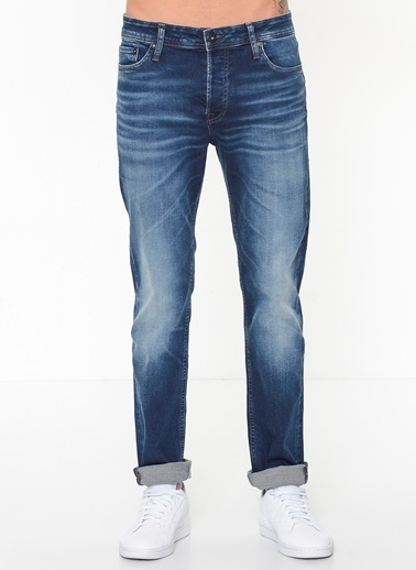Jack & Jones Jean Pantolon | Tim - Slim Fit Lacivert